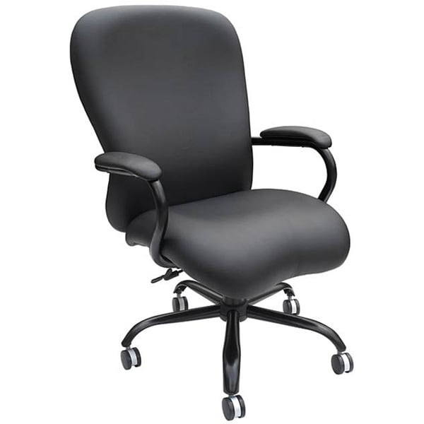 big and tall desk chairs chair cover rentals wilmington nc shop boss heavy duty free shipping today
