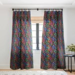 Ninola Design Modern Colorful Brushstrokes Painting Stripes Single Panel Sheer Curtain 50 X 84 On Sale Overstock 22042326