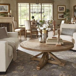 living room round table most popular paint colors for buy coffee tables online at overstock com our best benchwright rustic x base pine wood by inspire q artisan