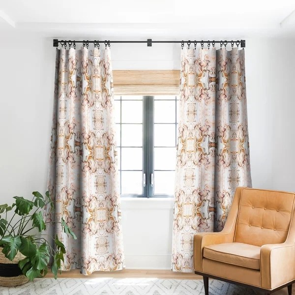 buy pink curtains drapes online at