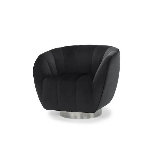 ab swivel chair alera elusion australia shop emma grey velvet and pine free shipping today