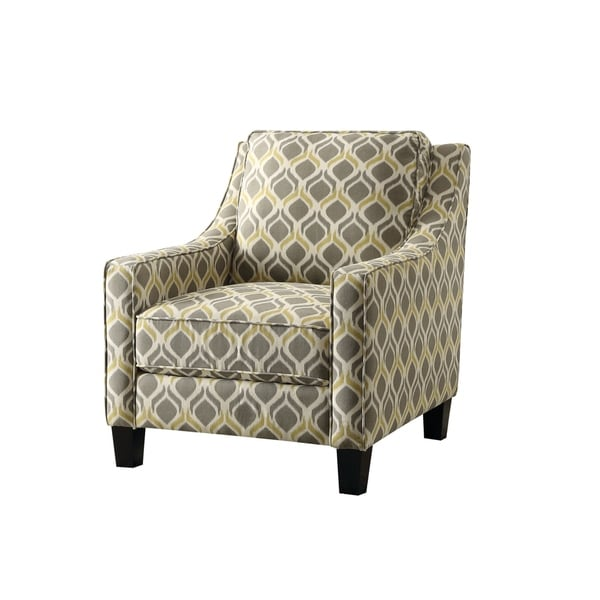 yellow and grey chair bedroom revit shop traditional accent free shipping today overstock com 22096967