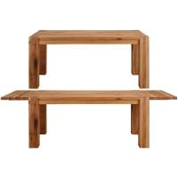 Shop Matrix Wild Oak Dining Table with 2 extension leaves