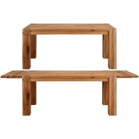 Shop Matrix Wild Oak Dining Table with 2 extension leaves ...