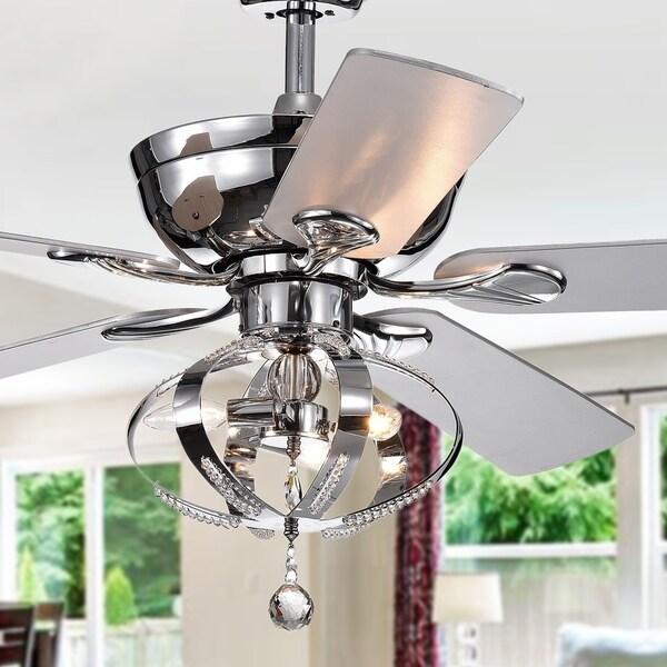 Shop Tatiana 52 Inch Ceiling Fan With 3 Light Royal