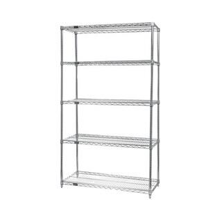 Shop Quantum Storage Systems Wire 4 Shelf Starter Unit in