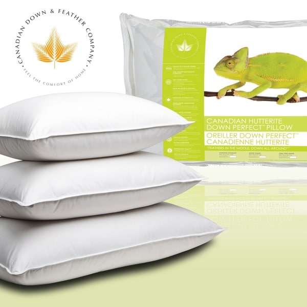 canadian down amp feather company hutterite down perfect pillow white