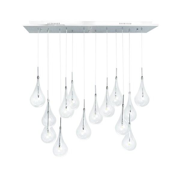 Shop Modern Multi-layered 14-light Glass Globes LED