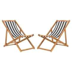 High Outdoor Folding Chairs Antique Slipper Chair Back Patio Furniture Find Great Safavieh Living Loren Foldable Sling Black White