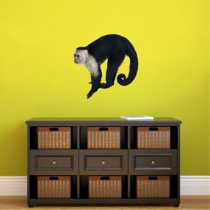 Real Life Monkey Printed Wall Decal