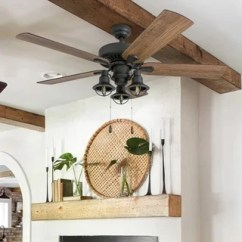 Lighting Ideas For Living Room With Ceiling Fan Furniture Decor Small Farmhouse Find Great Home Deals Shopping At Prominence Ennora Aged Bronze 52 Inch Led Lantern Light
