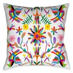 Laural Home Whimsical Folk Art I Outdoor Throw Pillow Overstock 22364126 20 X20
