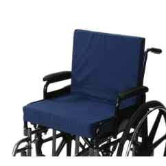 Thick Chair Cushions How To Make A Princess Shop Alex Orthopedic Wheelchair Cushion With Back 3 Inch Seat Free Shipping Today Overstock Com 22374925