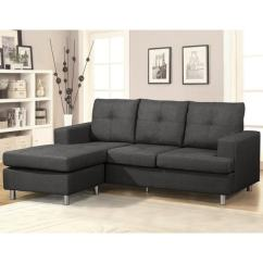 Fancy Sectional Sofas How To Steam Clean Fabric Sofa At Home Shop Reversible Free Shipping Today