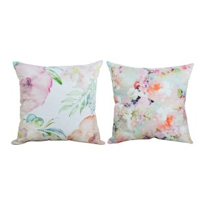 Throw Pillow Case Decorative Cushion Cover Floral Flower