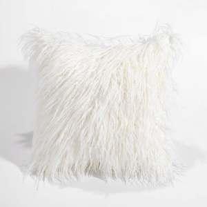 Super Soft Plush Faux Fur Throw Pillow Case