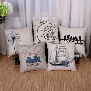 Home Decor Sofa Throw Pillow Case