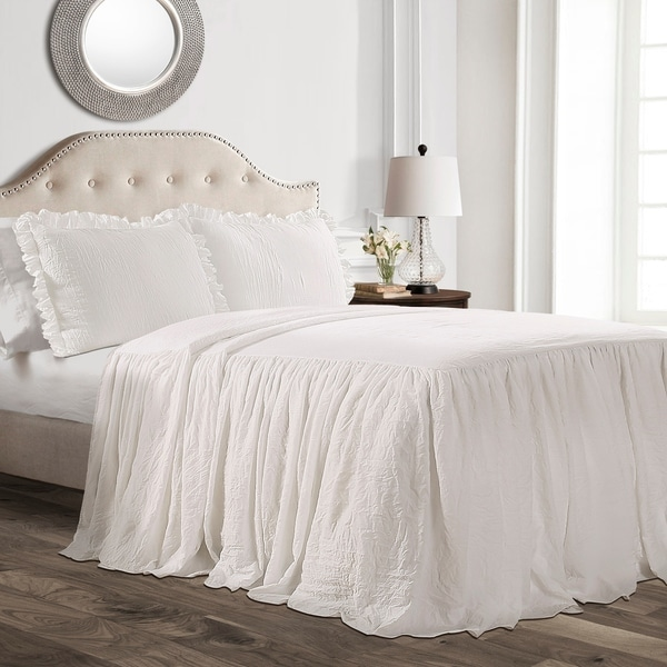 Shop Lush Decor Ruffle Skirt Bedspread Set On Sale Free Shipping Today Overstock 22543761
