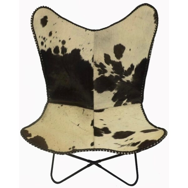 black and white cowhide chair picnic time sports shop butterfly lord in on sale free amp