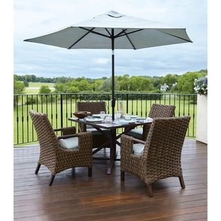 patio table and chairs clearance retro tables furniture liquidation find great outdoor living accents brown estate square dining