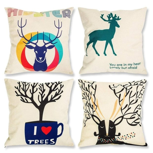 Pillow Covers Decorative Pillowcases 18x18inch Pillow Cases