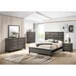 Stout Panel Bedroom Set With Bed Dresser Mirror Night Stand Chest On Sale Overstock 22725614