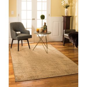 Natural Area Rugs Vintage Oriental Rome Synthetic Rectangle Rug (8'X10') Brown - 8' x 10'