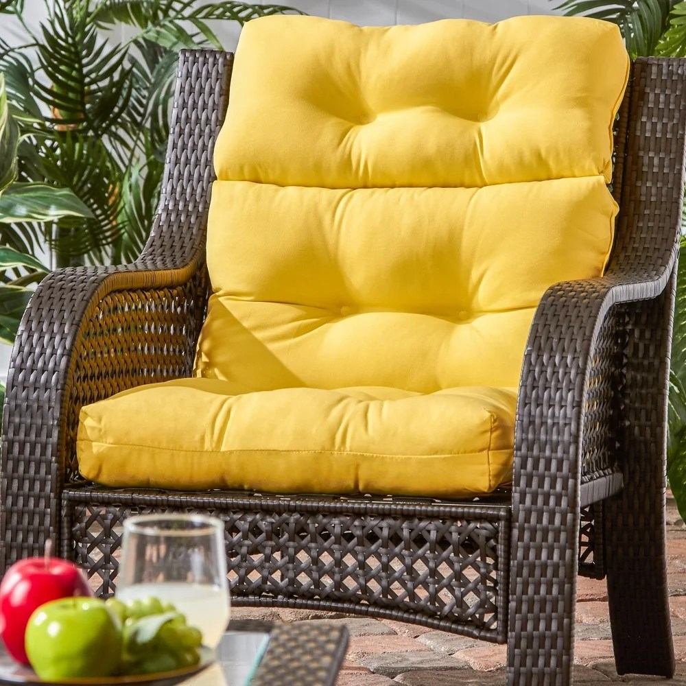 buy yellow outdoor cushions pillows