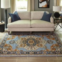 Living Rooms With Blue Area Rugs Best Room Pictures In India Shop Momeni Ibiza Handmade Wool Rug 8 X 10 Free X27