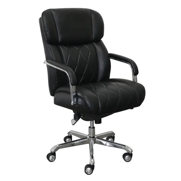 lazboy office chair plastic folding lounge shop la z boy sutherland with padded arms free