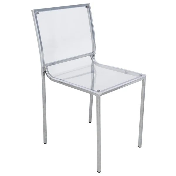 lucite acrylic chairs office chair sale shop leisuremod almeda clear dining side set of 4
