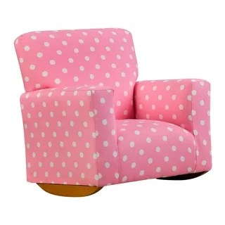 pink toddler rocking chair metal patio chairs with cushions buy kids online at overstock com chapter 3 sallie juvenile rocker
