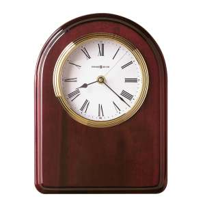 Howard Miller Honor Time IV Elegant, Regal, Transitional Wall Clock on Commemorative Plaque, Reloj De Pared