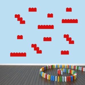 Blocks Wall Decal Pack - MEDIUM