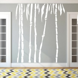 Bamboo Trees Wall Decal Pack - MEDIUM
