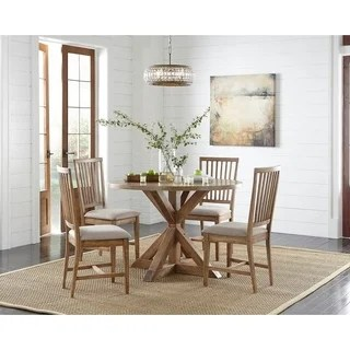 three piece kitchen sets carts for small kitchens buy 3 dining room online at overstock com simple living charlotte pedestal set