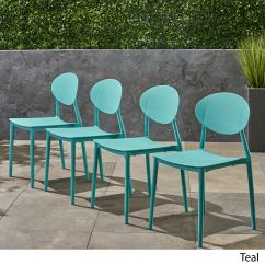 Molded Plastic Outdoor Sofa Black Covers Online India Buy Patio Dining Chairs At Overstock Our Best