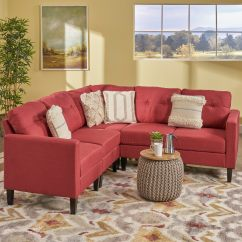 Customize Your Sectional Sofa Small Fabric Sofas Uk Delilah Mid Century Modern Set By Christopher Knight Home
