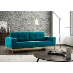 Cheap Teal Sofas Couch Sofa Bed Difference Shop New Tulip Design Mid Century Modern Premium Quality