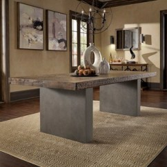Concrete Kitchen Table Cost Of New Dining Room Bar Furniture Find Great Deals Blake Reclaimed Wood And By Inspire Q Artisan