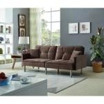 Shop Black Friday Deals On Emma Velvet Mid Century Sofa Sleeper Overstock 23050504