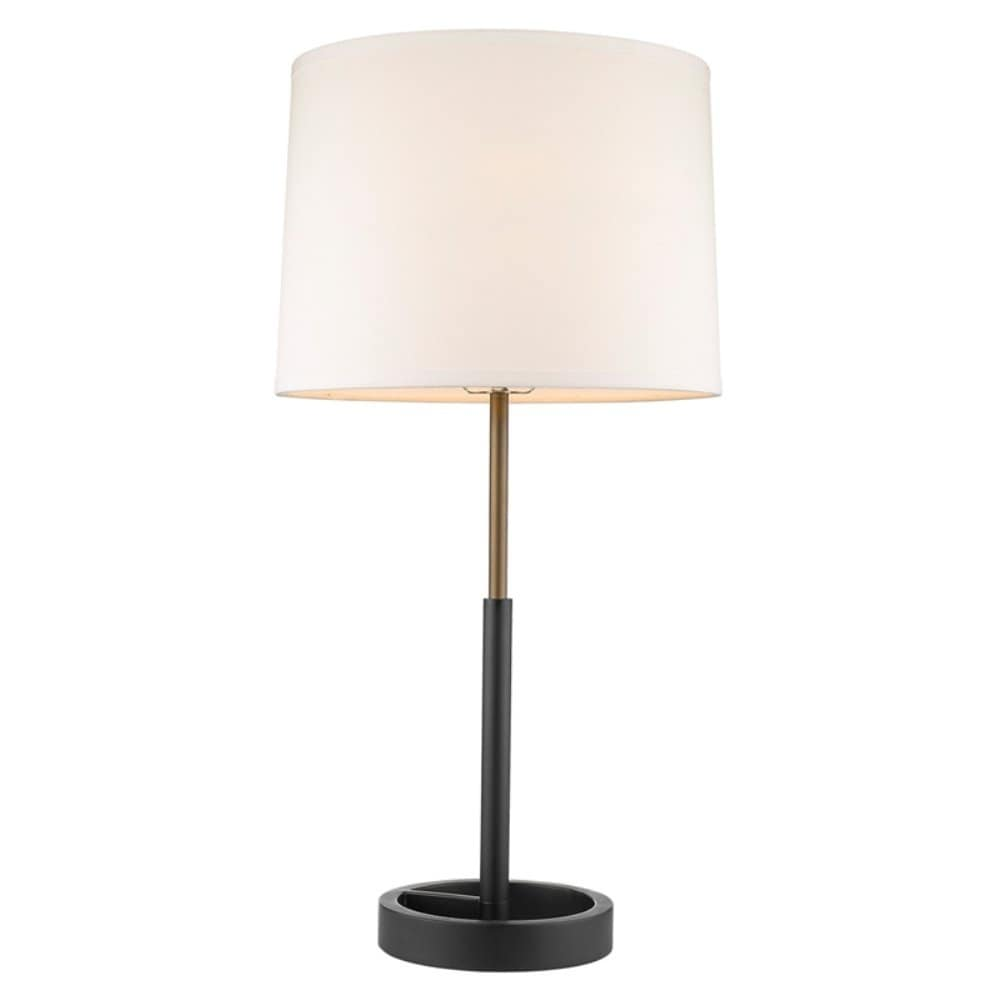 Trend by Acclaim Lighting Elixer 2-light Glass and Polished Chrome Steel Table Lamp