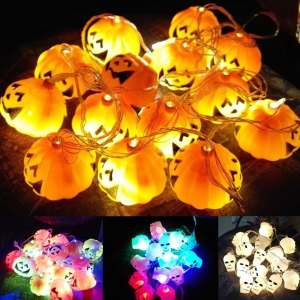 Halloween Party String Light Decorative LED Light Halloween Modelling Light