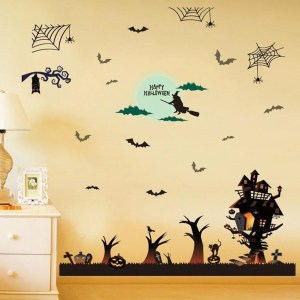 Funny Halloween Decorations Wall Sticker Halloween Party Decoration Wall Decal