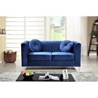 purple living room chair office carpet buy furniture sets online at overstock com our aadvik chesterfield loveseat