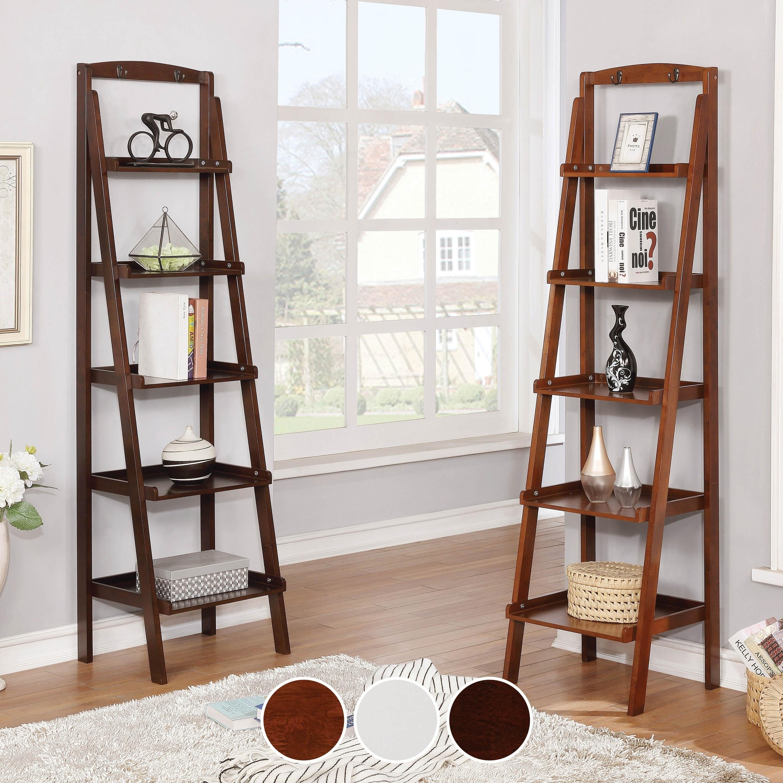 buy espresso finish bookshelves