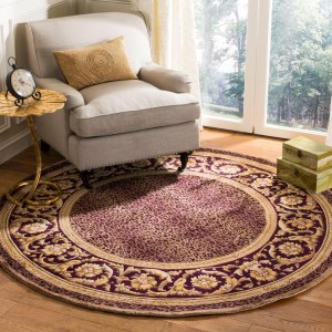 Safavieh Couture Handmade Florence Traditional Oriental - Wool Rug - Assorted - 6' x 6' Round