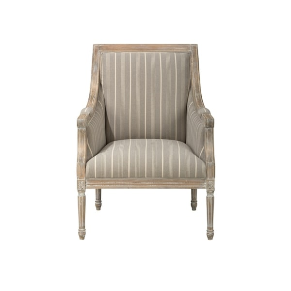 wood frame accent chairs wooden deck shop distressed chair with fabric upholstery taupe gray and brown on sale free shipping today overstock com 23500556