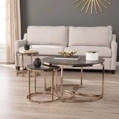 Set Of Tables For Living Room Ideas Grey And Purple Buy Table Sets Coffee Console Sofa End Online At Harper Blvd Belle Round 3 Piece Nesting