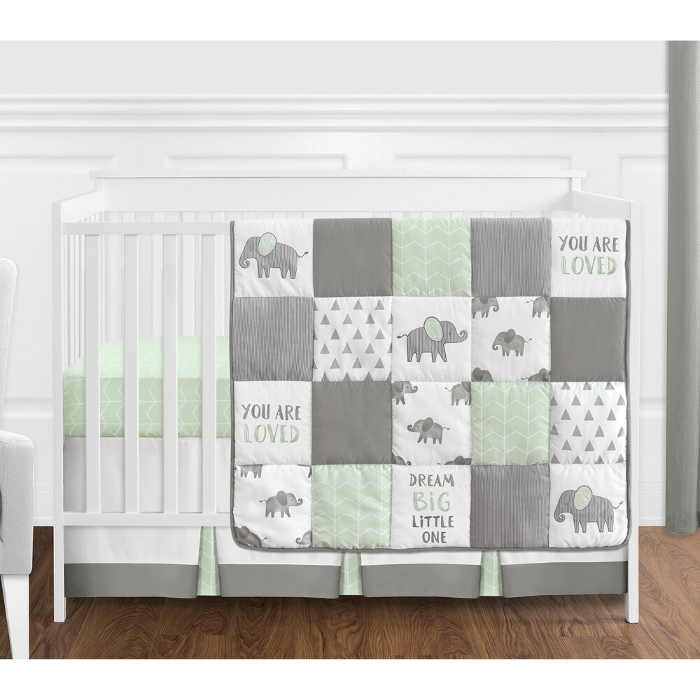 green baby bedding shop online at